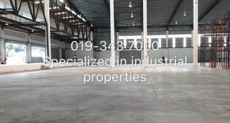 SUBANG WAREHOUSE FOR SALE