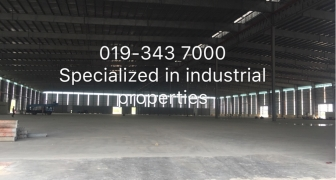KLANG WAREHOUSE FOR RENT