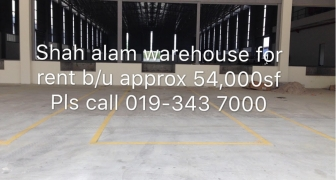 Shah Alam Warehouse